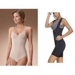 1+ 1 Body modelator Intimo + Costum Shaper Body Suit - pentru slabit