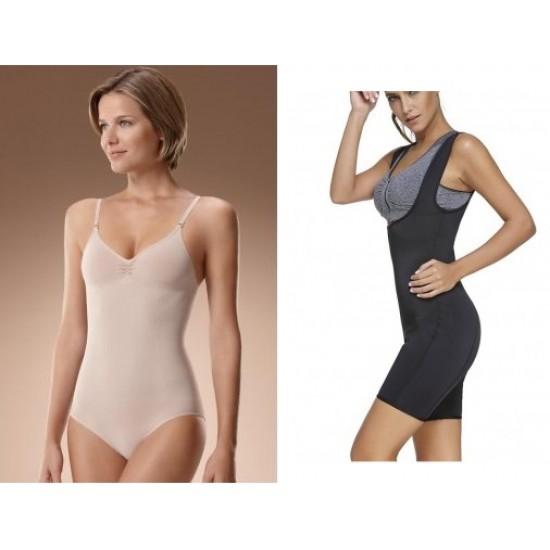 1+ 1 Body modelator Intimo + Costum Shaper Body Suit - pentru slabit Lenjerie intima