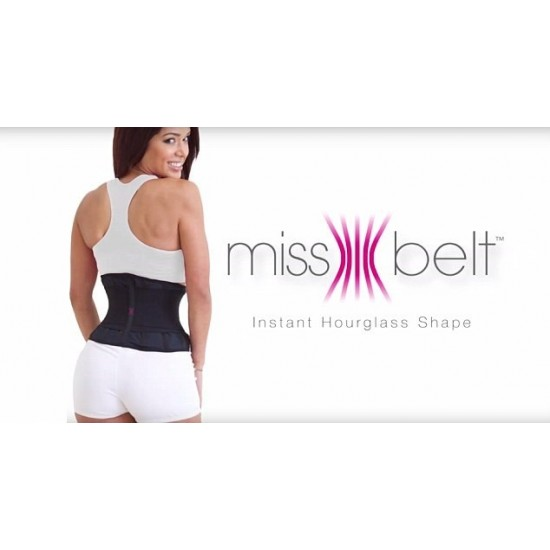 Centura modelatoare MissBelt Instant Hourglass Shape Modelatoare corporale