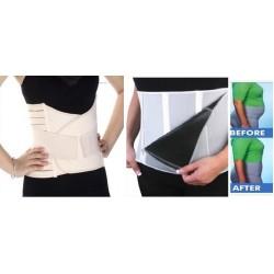 Promotie : Brau modelator pentru aplatizarea abdomenului si prevenirea durerilor de spate + Centura reglabila de slabit in 4 trepte